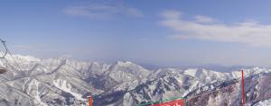 筍山からの眺め