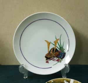 端午の節句絵皿